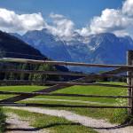 Loferer Steinberge Blick von Mayrberg