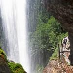 Wasserfall in Unken - der Satubfall