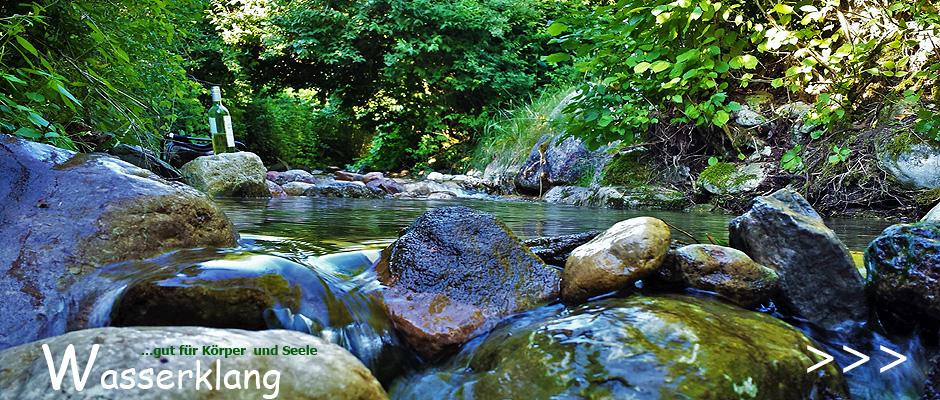 Die Reinheit des Wassers genießen.