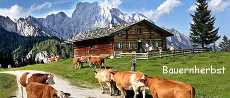 Bauernherbst - Herbsturlaub