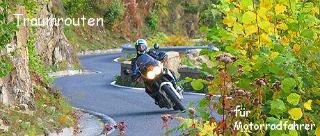 Das Land Salzburg bietet eine Fülle an herrlichen Motorradstrecken