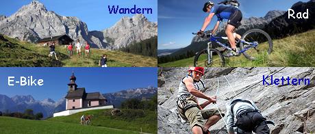 Wander - Klettern - Rad & E-Bike