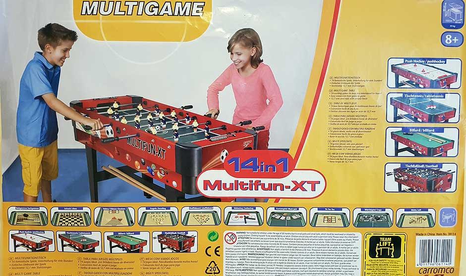 Spieletisch , Multifunktionstisch