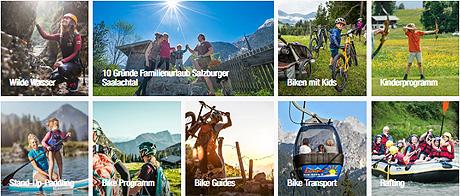 Abenteuer im Salzburger Saalachtal